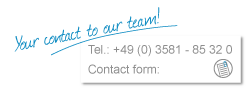 Your contact to our team!